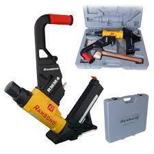 Ramsond 2 in 1 Air Hardwood Flooring Cleat Nailer and Stapler Gun   MSRP  149 80
