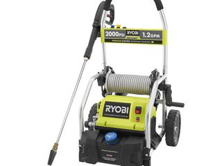 RYOBI 2 000 PSI 1 2 GPM ElECTRIC Pressure Washer   MSRP  179 00