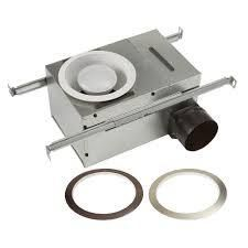 Broan NuTone White Adjustable 50 80 CFM Ceiling Bathroom Exhaust Fan with light Easy Change Trim Kit  ENERGY STAR   MSRP  139 00