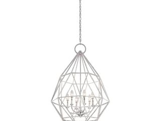 Feiss Marquise 3 light Silver Indoor Pendant   MSRP  948 90