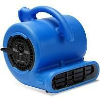 B Air 1 4 HP Air Mover Blower Fan for Water Damage Restoration Carpet Dryer Floor Home and Plumbing Use in Blue   MSRP  99 00