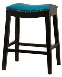 Cooper Grove Bonded leather Saddle Bar Stool