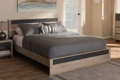Baxton Studio Bed Parts for Queen