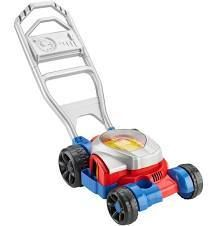 Fisher Price Bubble Mower Push Along Toy lawnmower
