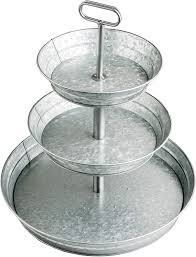 Star Pack Home Metal 3 Tier Tray