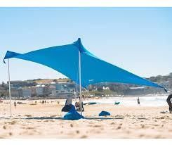 Neso Tents Beach Tent w  Anchor  amp  Canopy Sunshade