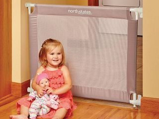 Toddleroo by North States Portable Baby Gate w  Travel Bag