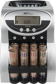 2 Row Coin Counter w  Value Counting
