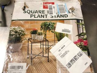 Square Island Plant Stand