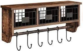 Rolanstar Coat Hook Shelf