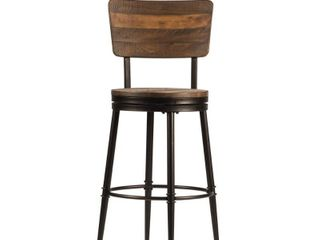 Jennings Counter Height Barstool   Distressed Walnut   Hillsdale Furniture 1 only
