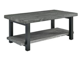 carbon loft lawrence reclaimed soild wood 42 inch coffee table Grey Retail 333 49