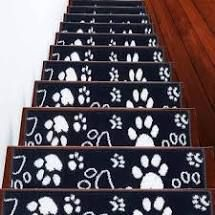 sussexhome paw collection stair threads 13 pcs 9x28 inches