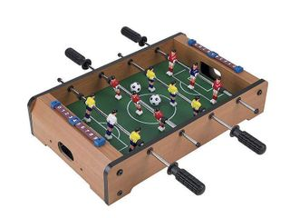 Trademark Games Mini Table Top Foosball  Pool Table    Turbo Hockey Bundle