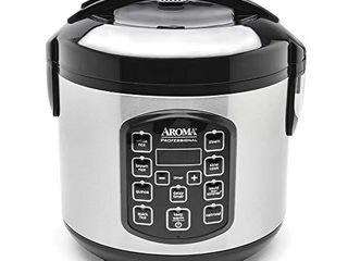 Aroma Housewares ARC 954SBD Rice Cooker  4 Cup Uncooked 2 5 Quart  Professional Version