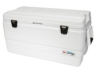 Igloo Marine Ultra 94 Quart Cooler  White Damaged