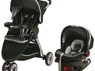 Graco Fastaction Fold Sport Click Connect Travel System Stroller  Gotham