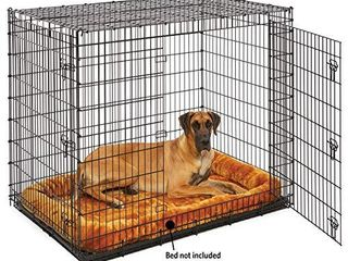 Midwest Sl54DD  Ginormus  Double Door Dog Crate for XXl for the largest Dogs Breeds  Great Dane  Mastiff  St  Bernard