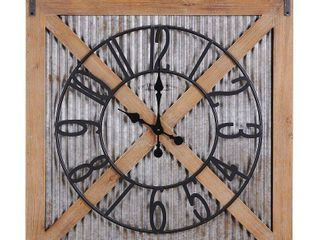 FirsTime   Co Ar Fieldhaven Barn Door Clock