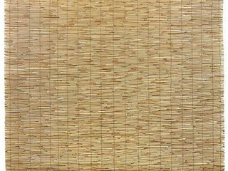 Radiance Cord Free  Roll up Reed Shade  Natural  72 x 72
