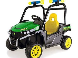 TOMY John Deere Gator Ride On Toy Car for Kids with Detachable Water Squirter  Green