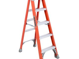 louisville ladder FS1505 300 Pound Duty Rating Fiberglass Step ladder  5 Feet