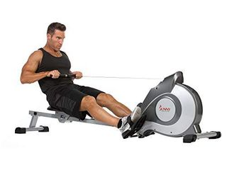 Sunny Health   Fitness Magnetic Rowing Machine Rower w  lCD Monitor