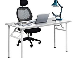 Need 55 inches Computer Desk Office Desk Folding Table with BIFMA Certification Computer Table Workstation