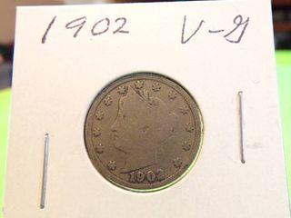 1902  V  NICKEl VG