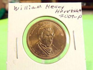 2009 P WIllIAM HENRY HARRISON PRESIDENTIAl DOllAR UNC