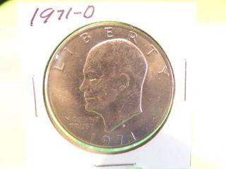 1971 D EISENHOWER DOllAR
