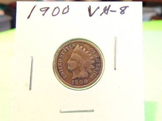 1900 INDIAN HEAD PENNY VG8