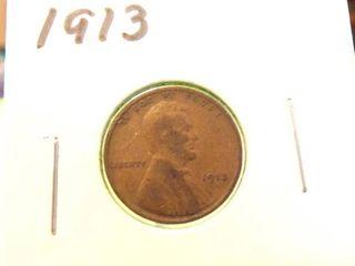 1913 WHEAT PENNY