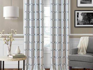 Elrene Kaiden Blackout linen 52  x 95   Set of 2 Window Panel