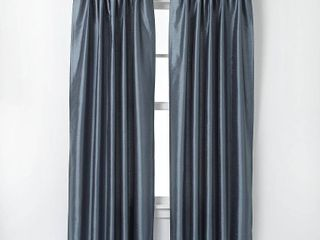120 x30  Marquee lined Room Darkening Curtain Panel Teal   Curtainworks Set of Two