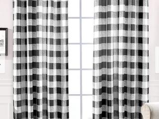 Drift Away Window Panel  2  Black  52x 63 Inches