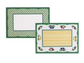 Villeroy   Boch French Garden 4 Pc  Reversible Placemat Set