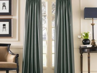 Set of 2 144 x30  Marquee lined Room Darkening Curtain Panel Teal   Curtainworks