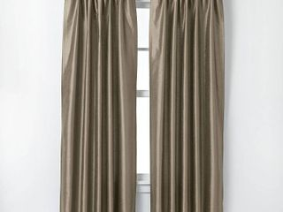 108 x30  Marquee lined Room Darkening Curtain Panel Bronze   Curtainworks Set of Two