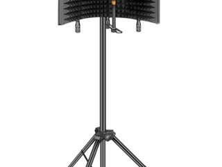 Professional Studio Recording Microphone Isolation Shield  Pop Filter