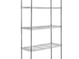 Amazonbasics 5 shelf Shelving Unit chrome