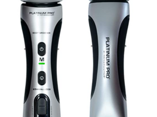Mangroomer Platinum Pro Wet   Dry Rechargeable Body Grooming Trimmer   Used