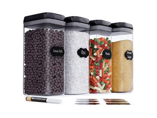 Chef s Path  Food Storage Container Set  4 Piece
