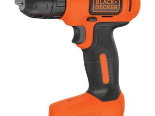 BlACK DECKER 8 Volt MAX  lithium Ion Cordless Drill  BDCD8C