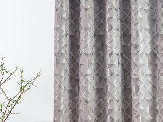 Croscill Sloan Abstract Diamond Shower Curtain   Charcoal   54 x 78   Croscill