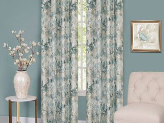 Achim Tranquil    Set of 2 lined Grommet Window Curtain Panel