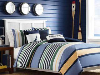 Nautica Dover Twin Comforter Mini Set Bedding