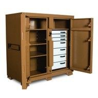 Knaack 112 Jobmaster Cabinet with Drawers 61 H x 60 W x 30 D  DAMAGED
