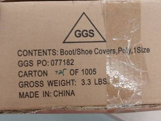 Condor one size Boot Shoe Covers    2 pk
