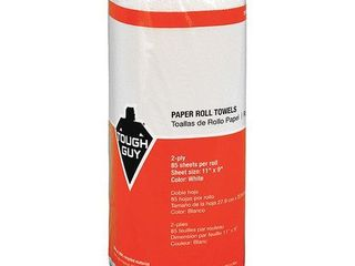 TOUGH GUY Perforated Roll 11 78 ft White PK30 22UY43